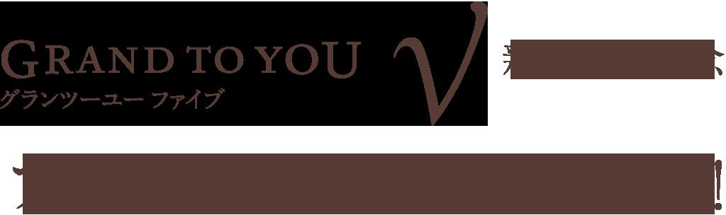 グランツーユーV(ファイブ)新登場記念 ファーストオーナー募集!