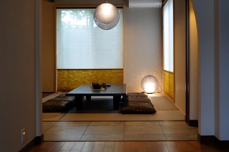 落ち着きを重視した離れ感覚の和室
